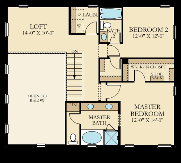 Autumn Field | Residence 1 Second Floor