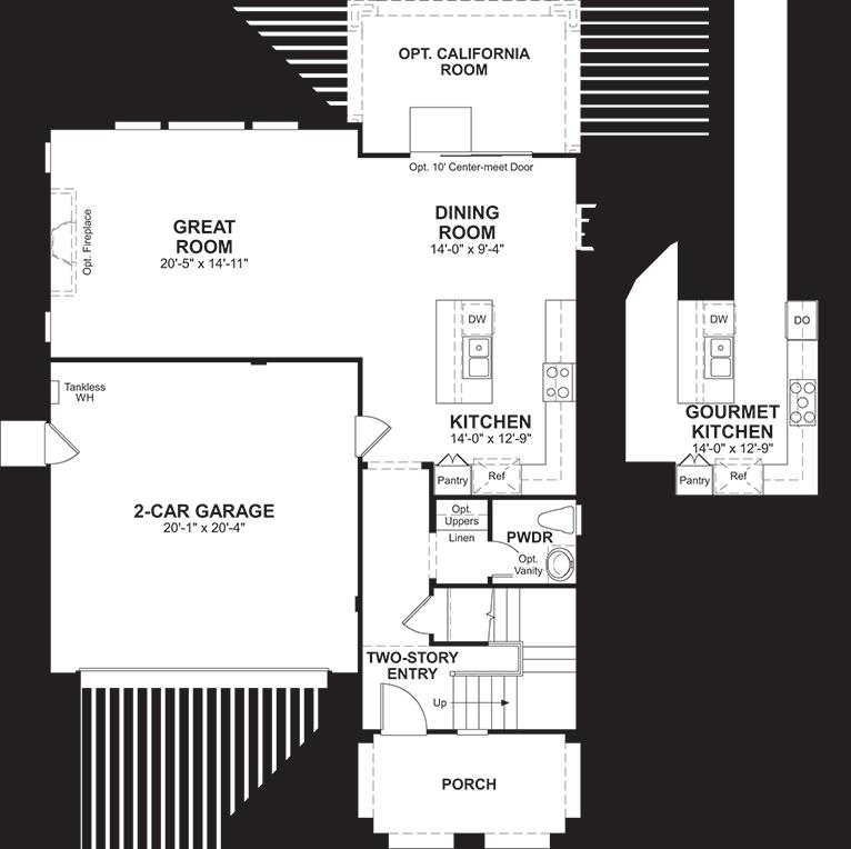 Vineyard | Belleview First Floor