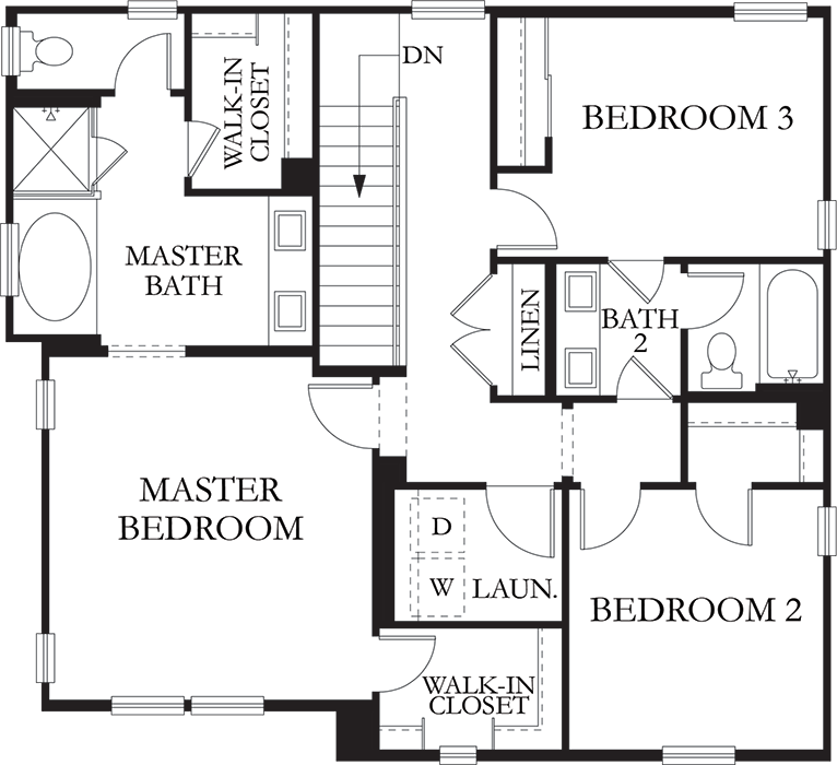 Summerfield | Residence 2 Second Floor