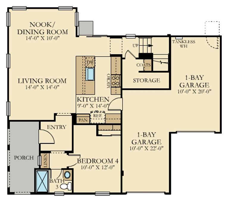 Olive Grove | Residence 3 First Floor