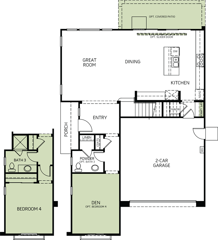 Sunrise | Residence 1 First Floor