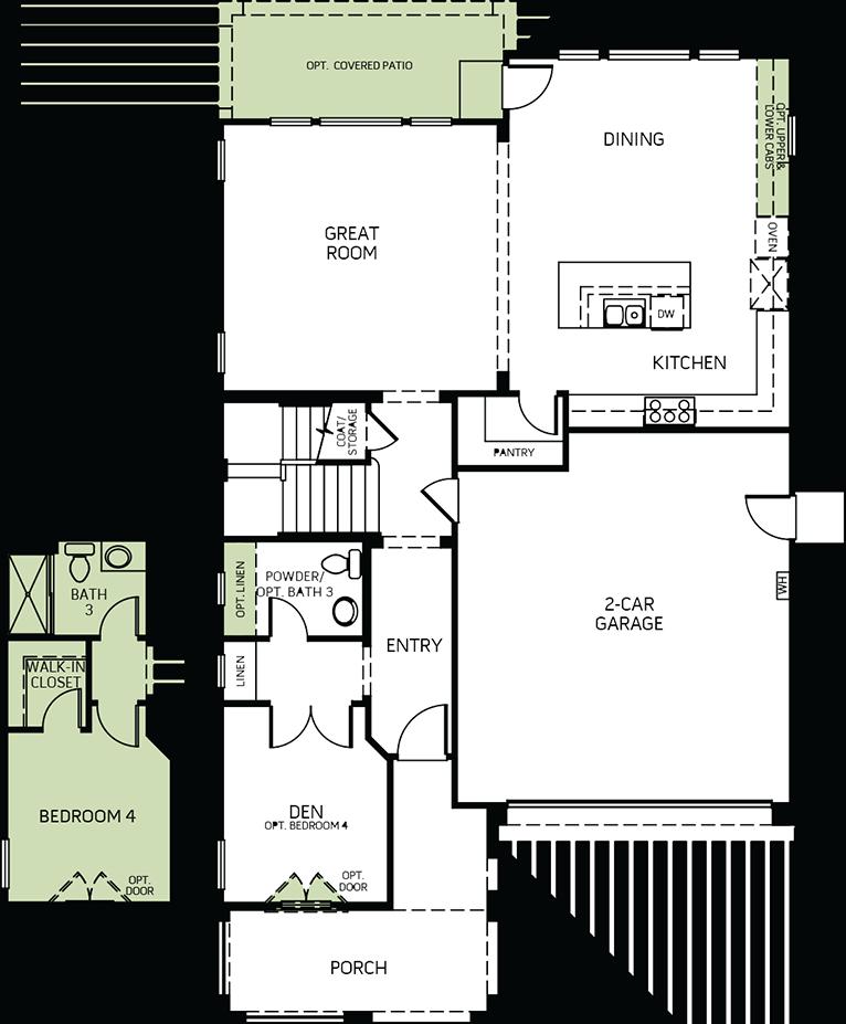 Sunrise | Residence 2 First Floor