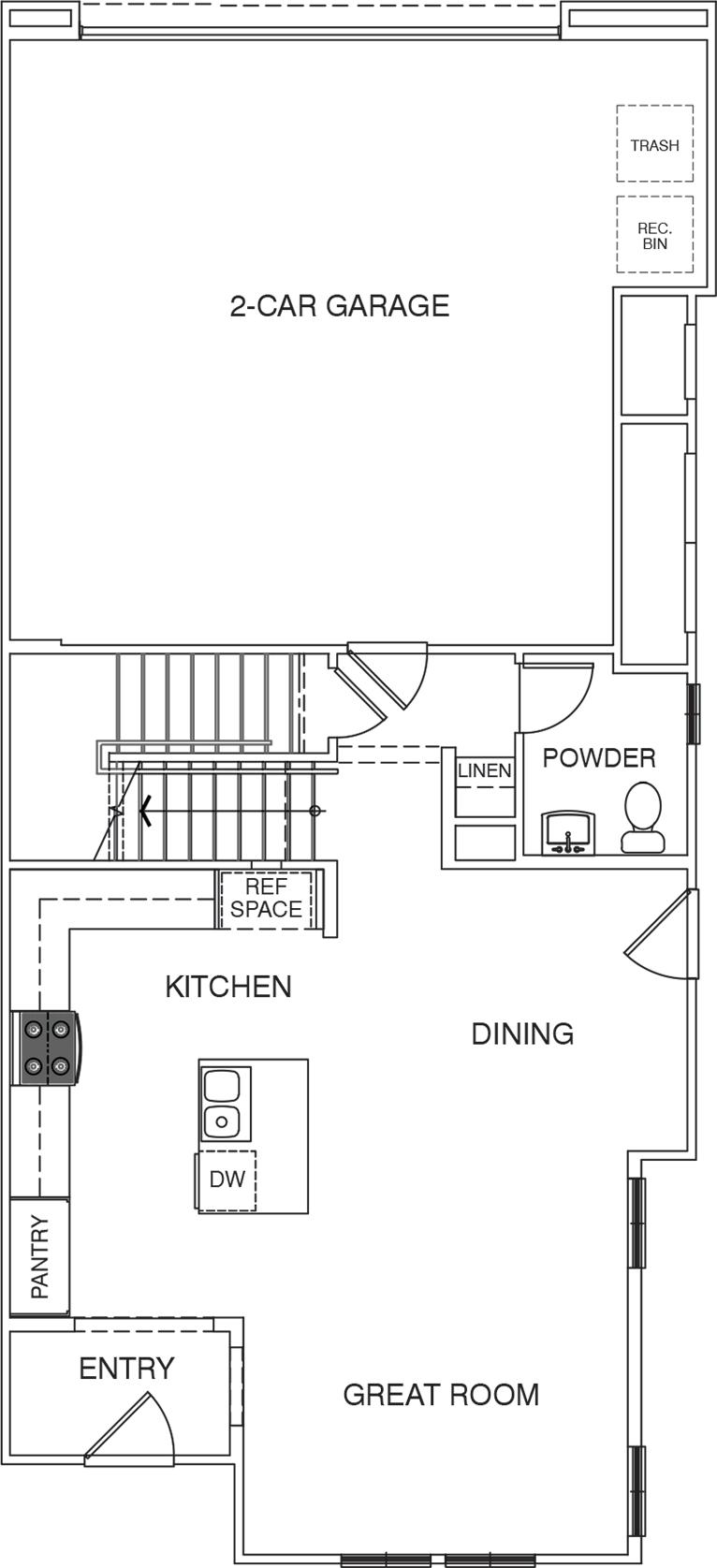Ivy Residence 4 first floor floor plan