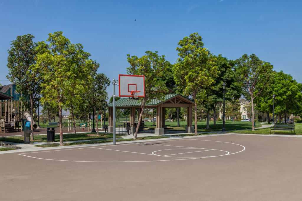 Forest Park Half Basketball Court at The Preserve at Chino