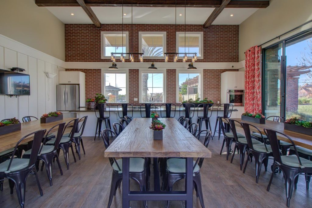 interior of The Gardenhouse at The Preserve at Chino