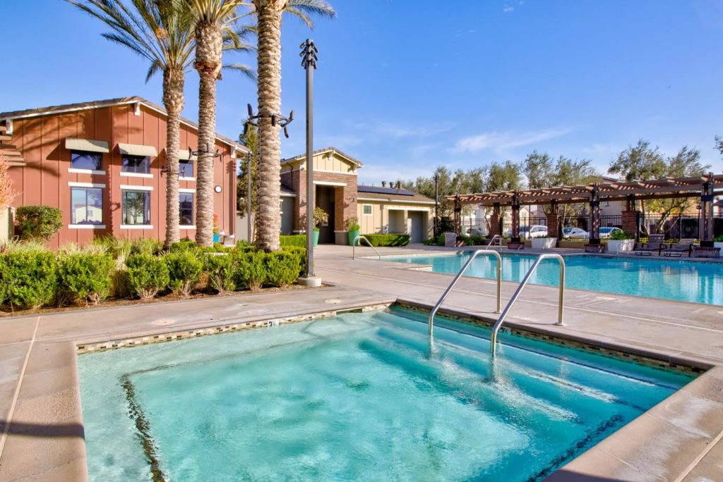 spa and pool at The Gardenhouse at The Preserve at Chino