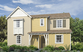 exterior rendering of Residence 2 C at Voyage