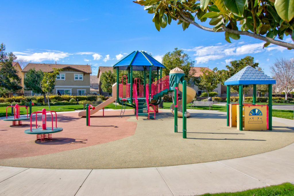 Meridian Park playground at The Preserve at Chino