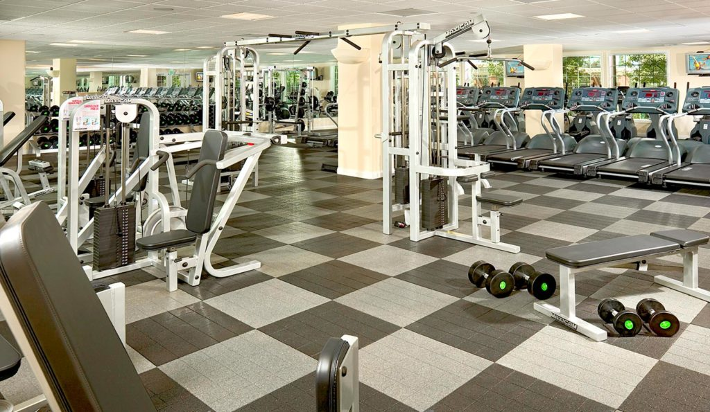 Gym at The Parkhouse at The Preserve at Chino