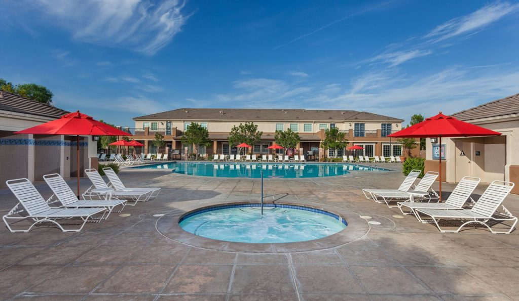 Pool at The Parkhouse at The Preserve at Chino