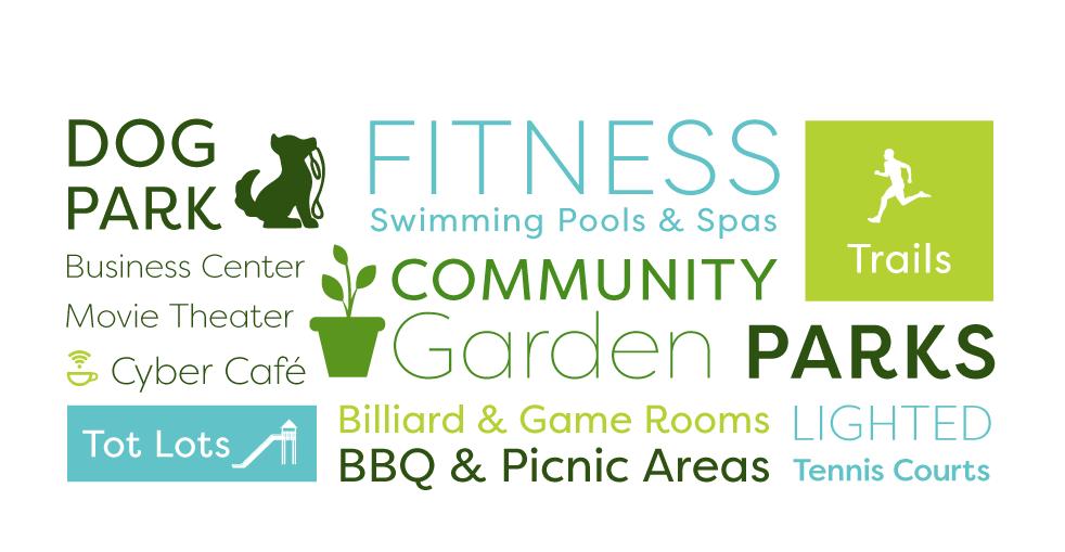 amenities info graphic