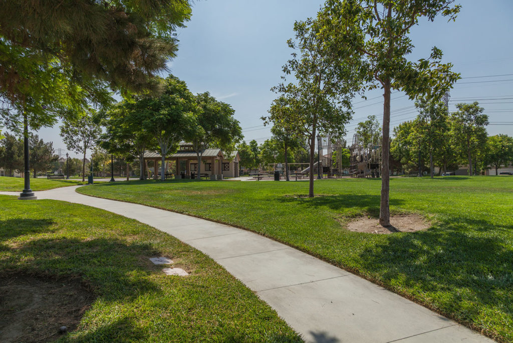 Forest Park Walking Trail at The Preserve at Chino