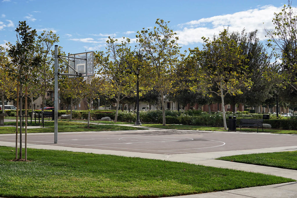 Garden Park Half Basketball Court