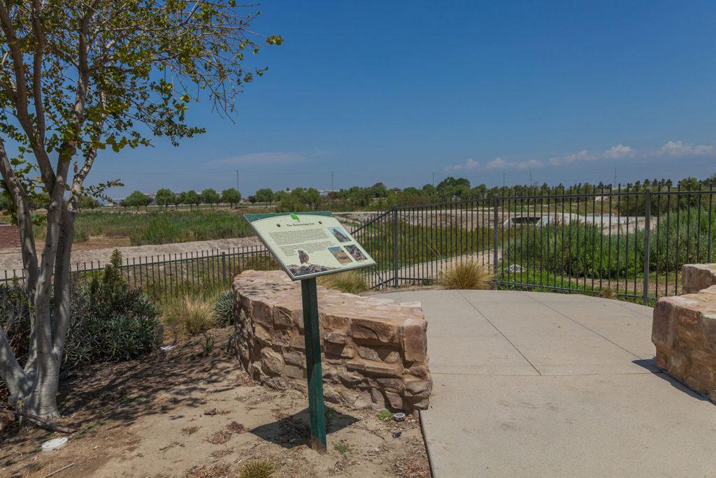 Nature Retreat Walking Trail at The Preserve at Chino