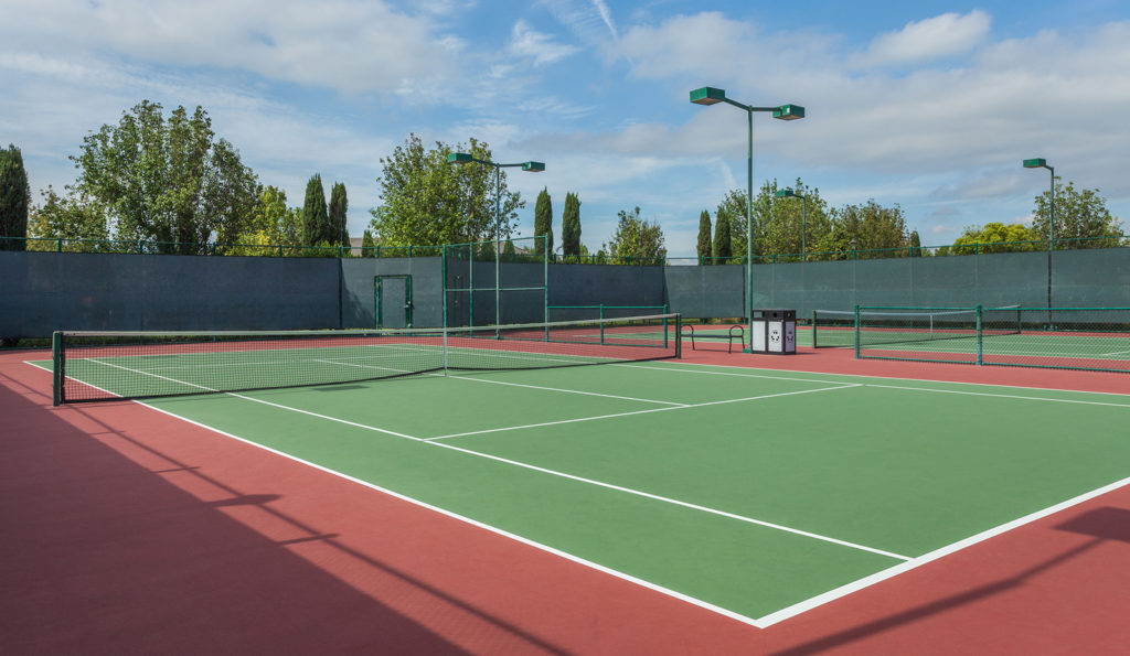 Tennis Courts at The Parkhouse at The Preserve at Chino
