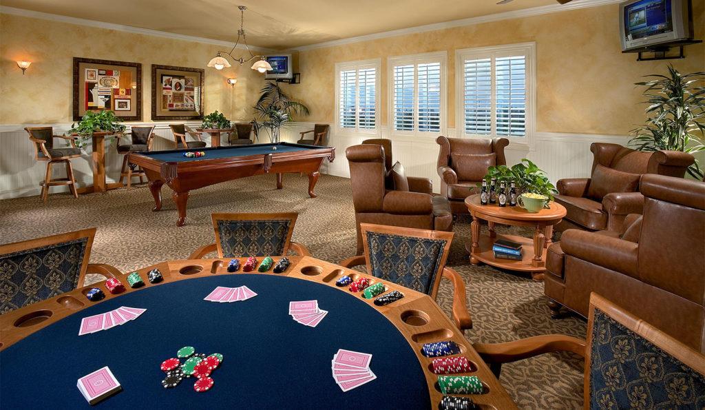 Billiard Room at The Parkhouse at The Preserve at Chino
