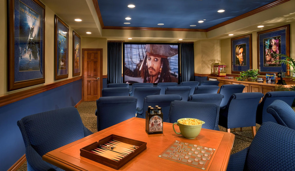 Movie Theater at The Parkhouse at The Preserve at Chino