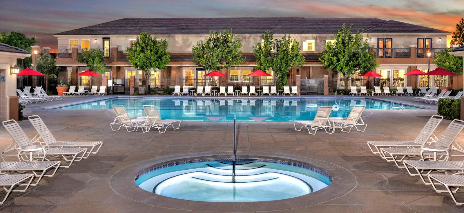 The Pool at The Parkhouse at The Preserve at Chino