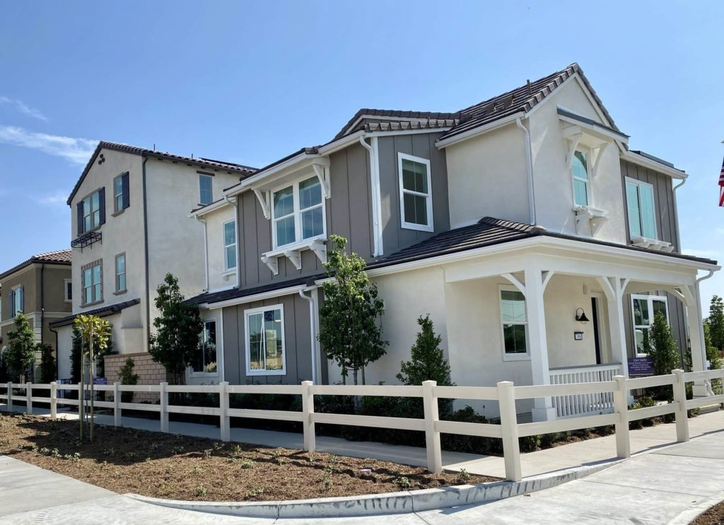 Exterior Elevation | Gardenside| New homes in Chino, California| The Preserve