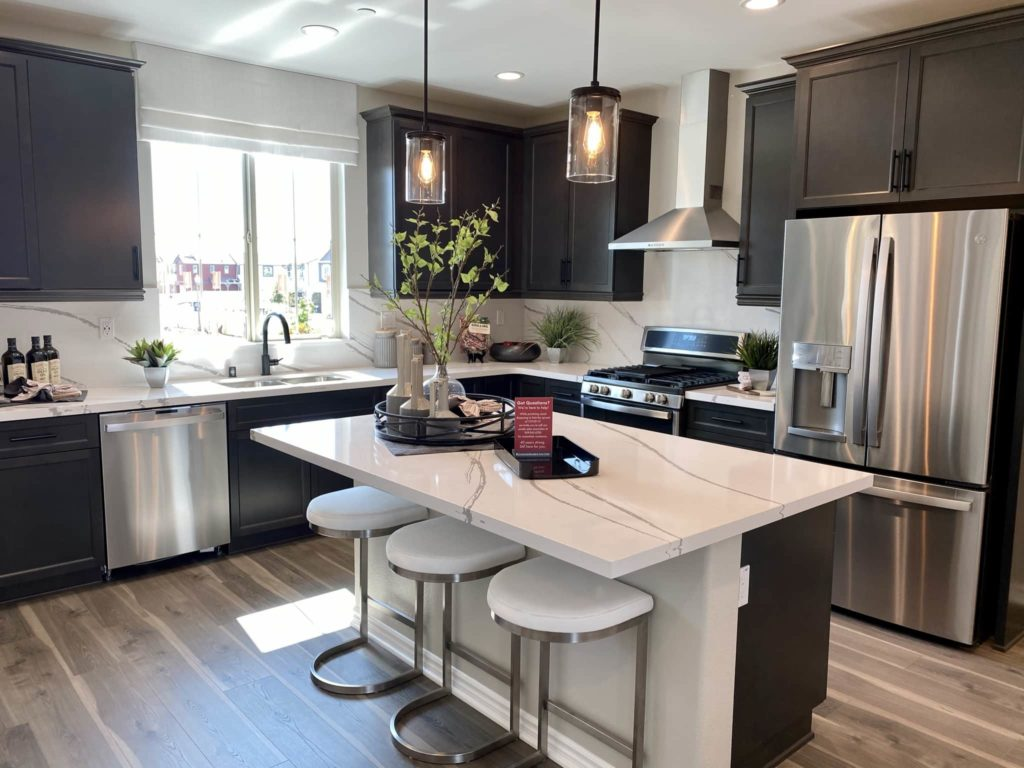 Kitchen | Gardenside| New homes in Chino, California| The Preserve
