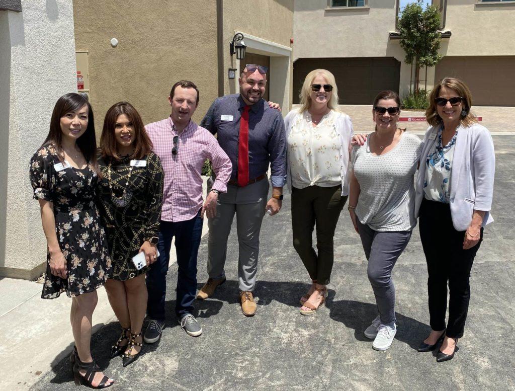 Sales team group photo