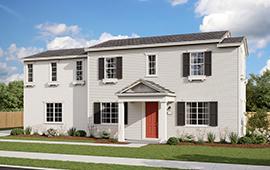exterior rendering of Newport at Parklin